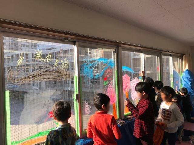 汐入小ニコニコスクールにてお絵描き大会の出前授業を行いました